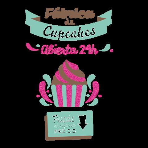 Fábrica de cupcakes abierta 24hrs, puede recoger su pedido