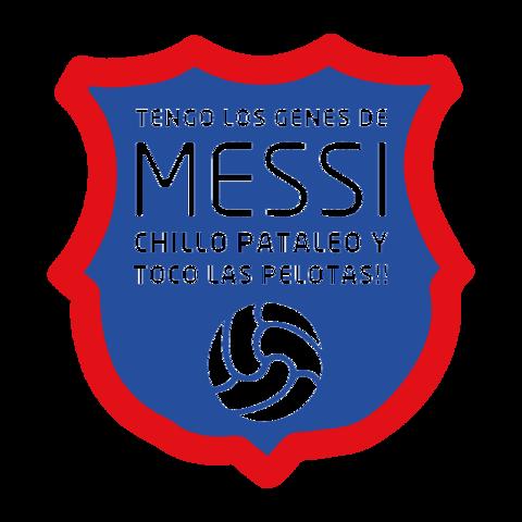 Tengo los genes de Messi, chillo, pataleo y toco las pelotas