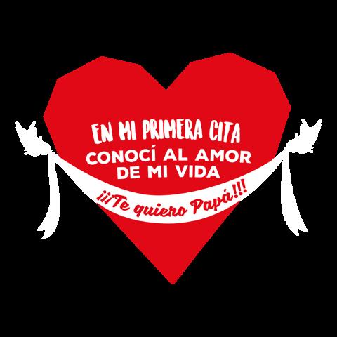 EN MI PRIMERA CITA CONOCÍ AL AMOR DE MI VIDA. Te quiero Papá!!!